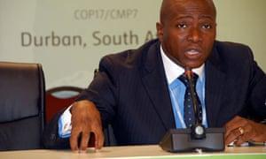 COP17 in Durban : African group lead negotiator Tosi Mpanu Mpanu