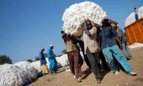 MDG : Mali : Cotton farmers and their family members