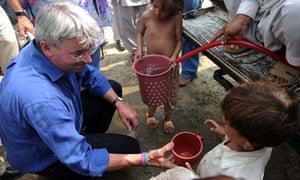 MDG : Andrew Mitchell UK State Secretary for International Development