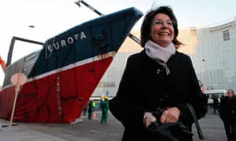 EU fisheries and maritime affairs commissioner Maria Damanaki