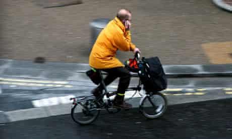 Bike Blog : Mobile phone and cycling