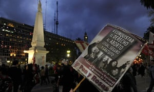 MDG : Argentina abortion : Women march to Plaza de Mayo