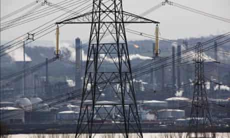Damian blog : Longannet coal fired power station , the INEOS owned Grangemouth oil refinery