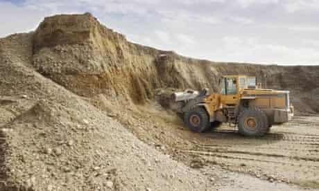 Damian Blog : gravel pit