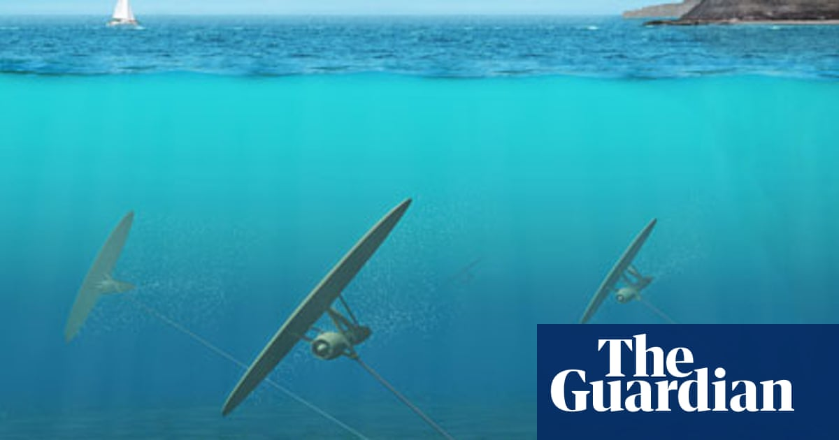 Let There Be Lights And Kites Again >> Underwater Kite Turbine May Turn Tides Into Green Electricity