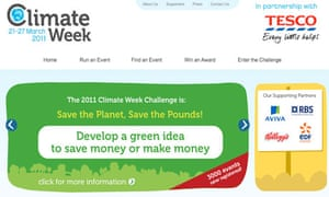 Damian Blog : Climate week