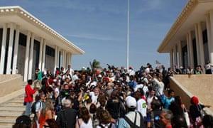 MDG : Brazil President Luiz Inacio Lula da Silva visits Dakar