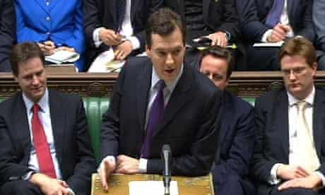 Budget 2011 : Chancellor George Osborne