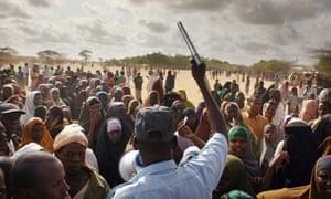 Dadaab refugee camp : Somali Refugees Live Desperate Existence In Camps In Neighboring Kenya