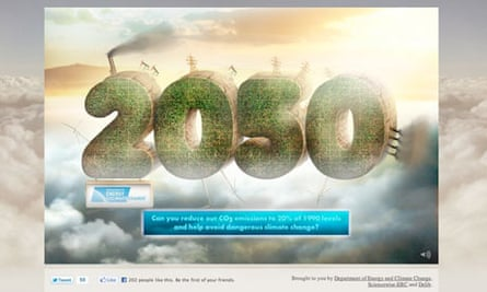 Create your My2050 world for the UK by DECC