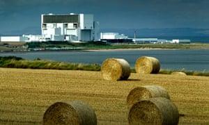 Torness nuclear power plant, East Lothian, Scotland