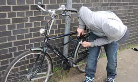 A bike thief
