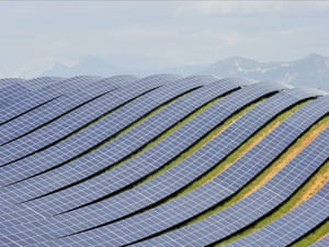 Les Mees solar farm, the biggest in France