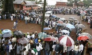 MDG : Sierra Leone and elections