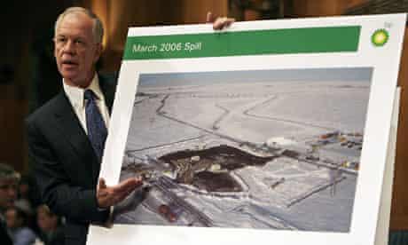 BP Prudhoe Bay Oil Field oil spill in Alaska
