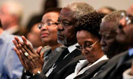 MDG : Kofi Annan at World Economic Forum on Africa 2011 in Cape Town, South Africa