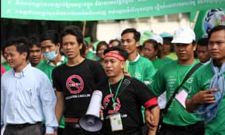 MDG : NGOs  and associations in Cambodia