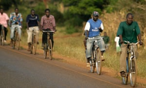 MDG: Chinese bicycles in Malawi
