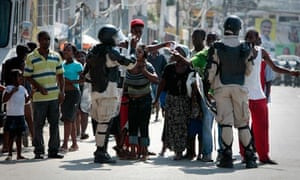 Cholera epidemic spreads Anti-UN Protests in Haiti's Capital Port-au-Prince