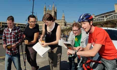 Bike blog : Sustrans' Rich Sanders  takes on BBC Countryfile transport race