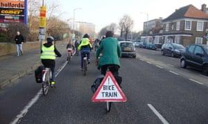 Bike Blog : bike train in Brighton