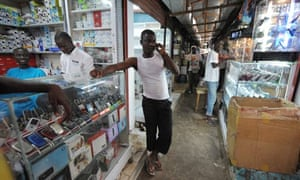 MDG : Economy growth in Africa, mobile phone market in Abidjan