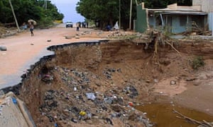 MDG : Roads and climate change in Africa , flash floods in Ethiopia