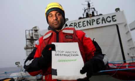 Greenpeace International Executive Director Kumi Naidoo and Cairn Energy's oil spill response plan