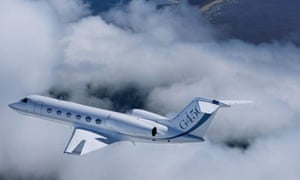 A Gulfstream 6450 first trans-Atlantic biofuel flights