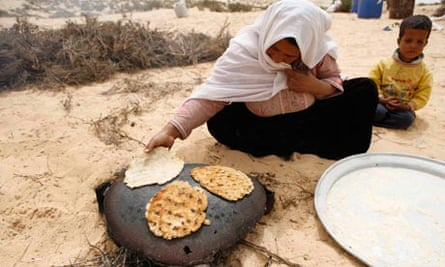 MDG : A Bedouin woman from al-Aweida tribe in Sinai Egypt