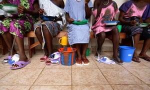 MDG : Women in Hospital in Sierra Leone