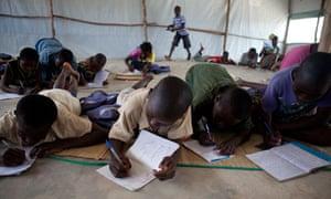 MDG : Ivory Coast crisis: Bahn Refugee Camp, Liberia