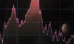 Damian Blog : Stock market board