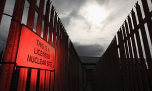 Damian blog : security fence at Heysham Nuclear Power Station