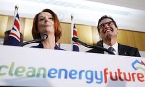 Government Announces Carbon Tax Details in Australia : Australian Prime Minister Julia Gillard