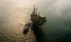 Oilspill from leak at C platform of the Penglai 19-3 oilfield in Bohai Bay in China