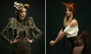 Green Living blog : Roadkill Couture by designer Jez Eaton