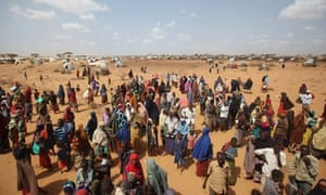 MDG Displaced People At Dadaab Refugee Camp Kenya