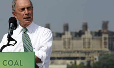 New York Mayor Michael Bloomberg  donate 50 million US dollars to Sierra Club Beyond Coal Campaign