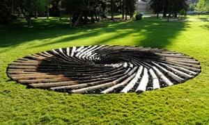 Suzanne blog : Carbon Sink by UK artist Chris Dury at the University of Wyoming