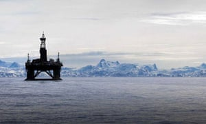 Arctic drilling for oil