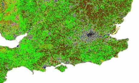 Damian blog : UK land cover