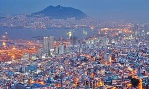 MDG : Port city of Busan, South Korea