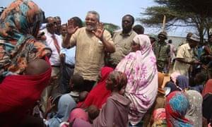 MDG : AU envoy to Somalia Jerry Rawlings