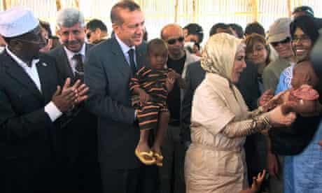 MDG :  Turkish Prime Minister Recep Tayyip Erdoganvisit Somalia