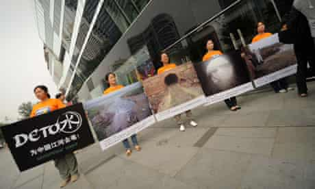 Greenpeace report on toxins in sports good polluting China's major rivers