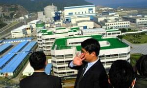 Jonathan Watts blog : Ling Ao secondary phase of the  Daya Bay Nuclear Power station, China