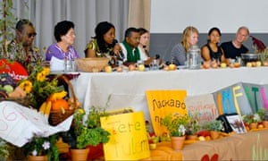 MDG : Second day at meeting of European Forum for Food Sovereignty in Krems, Austria