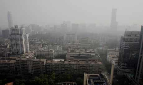 Wikileaks cable on China :Smog in Guangzhou, Guangdong province, due to air pollution, PM 2.5