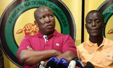 MDG : ANC Julius Malema